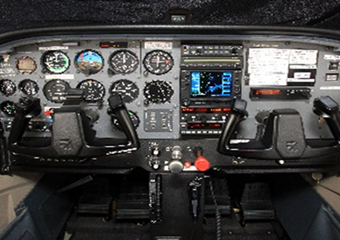 Radio and FMS Garmin 530 equipped